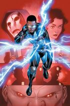 Black Lightning, lightning-powered hero