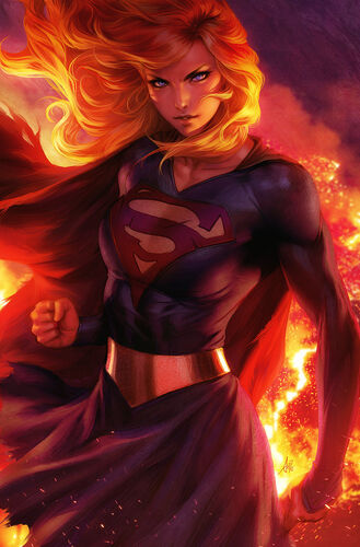 Textless Supergirl Variant