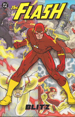 Cover for the The Flash: Blitz Trade Paperback