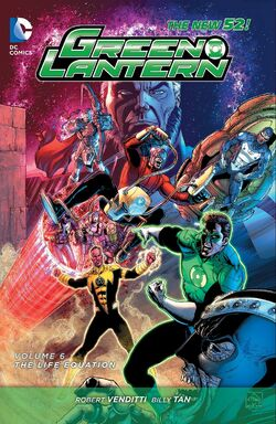 Cover for the Green Lantern: The Life Equation Trade Paperback