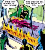 Talia revives in the Lazarus Pit