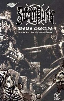 Cover for the Steampunk: Drama Obscura Trade Paperback