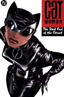 Cover for the Catwoman: The Dark End of the Street Trade Paperback