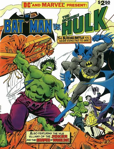 DC & Marvel Comics - Batman Vs Hulk - The Monster and the Madman