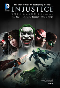 Cover for the Injustice: Gods Among Us Vol. 1 Trade Paperback