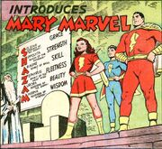 Presenting... Mary Marvel