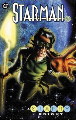 Cover for the Starman: A Starry Knight Trade Paperback