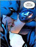 Batman Catwoman kiss 01