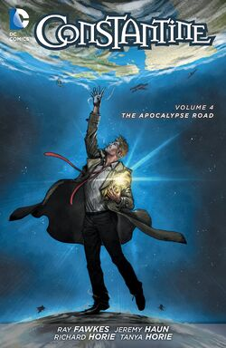 Cover for the Constantine: The Apocalypse Road Trade Paperback