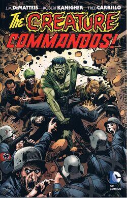 Cover for the Creature Commandos Trade Paperback