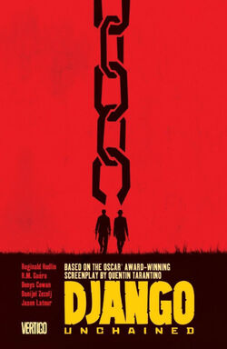 Cover for the Django Unchained Trade Paperback