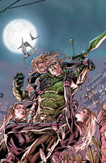 The Skylark attack Green Arrow