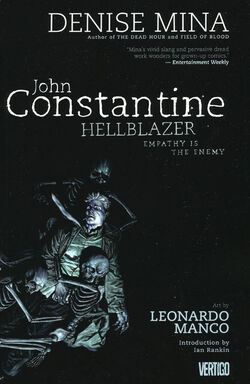 Cover for the Hellblazer: Empathy is the Enemy Trade Paperback