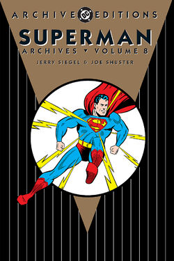 Cover for the The Superman Archives Vol. 8 Trade Paperback