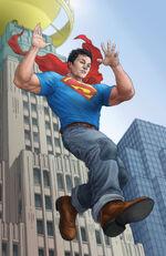 Superman debuts in Metropolis