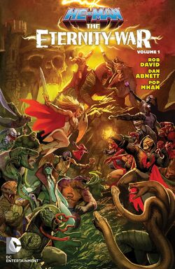 Cover for the He-Man: The Eternity War Vol. 1 Trade Paperback