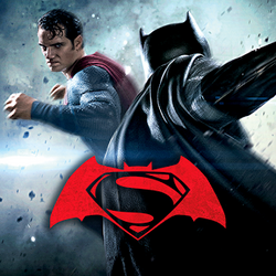 Batman v Superman Who Will Win Logo