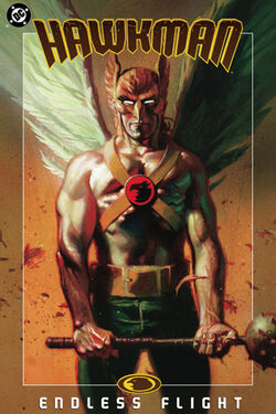 Cover for the Hawkman: Endless Flight Trade Paperback