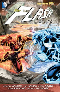 Cover for the The Flash: Out of Time Trade Paperback