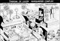Diagram of Legion Headquarters Complex