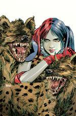 Harley Quinn Vol 2 8 Textless Variant