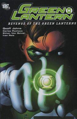 Cover for the Green Lantern: Revenge of the Green Lanterns Trade Paperback