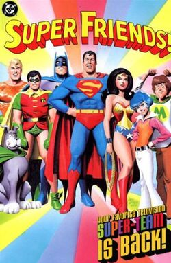 Cover for the Super Friends! Trade Paperback