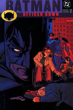 Cover for the Batman: Officer Down Trade Paperback