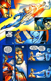 Captain Atom vs Majestic