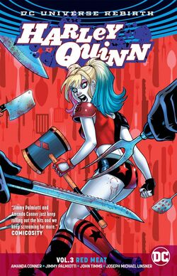 Cover for the Harley Quinn: Red Meat Trade Paperback
