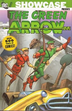 Cover for the Showcase Presents: Green Arrow Vol. 1 Trade Paperback