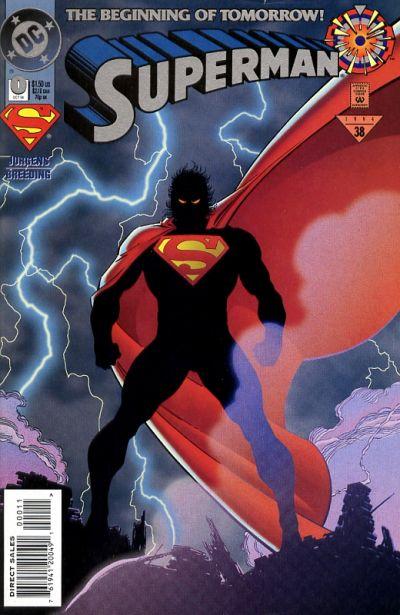 Vol.2 No.93 1994 Zero Hour Dan Jurgens Superman
