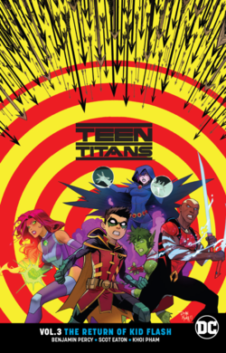 Cover for the Teen Titans: The Return of Kid Flash Trade Paperback