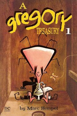 Cover for the A Gregory Treasury Vol. 1 Trade Paperback