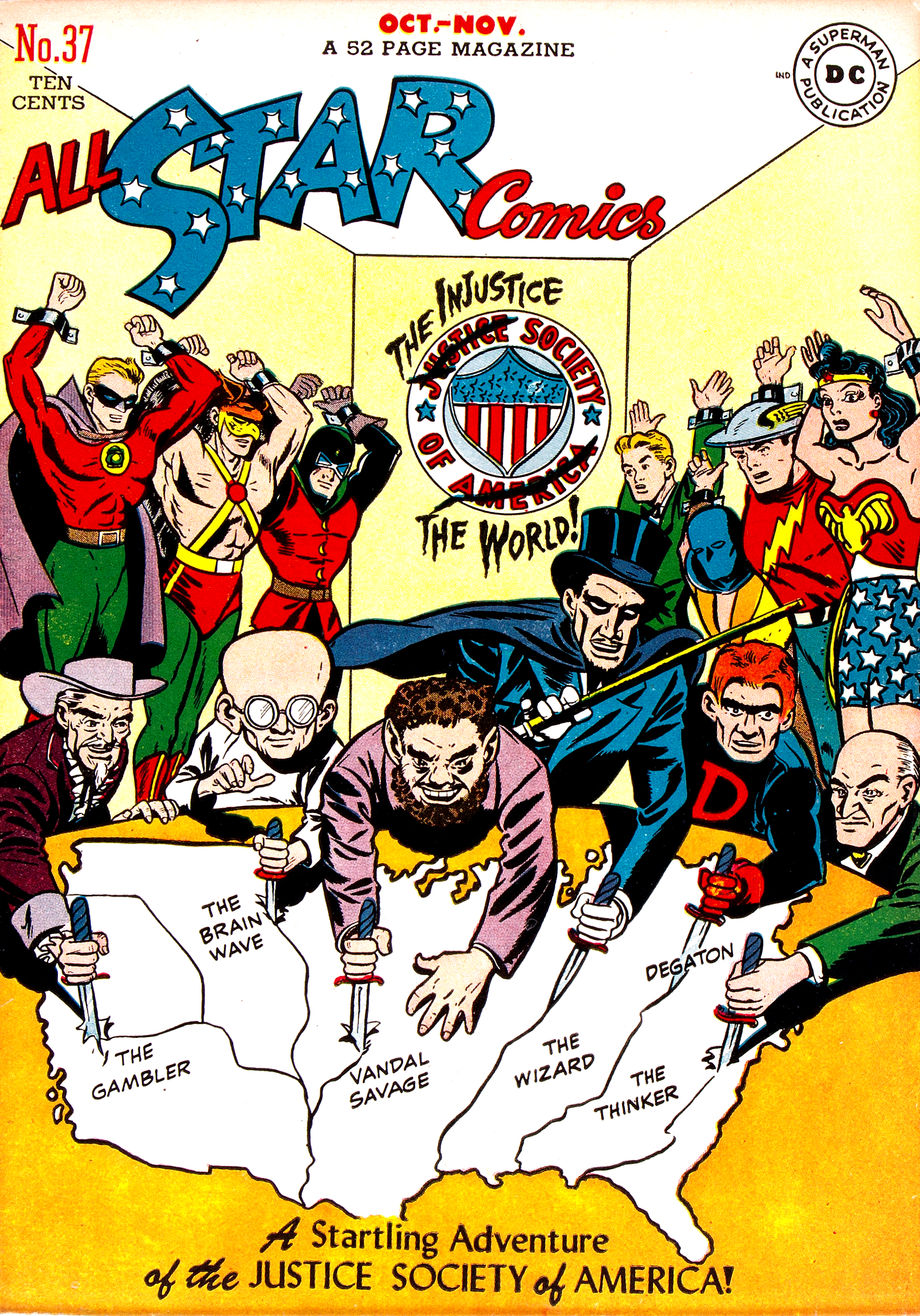 Image result for dc comics injustice society