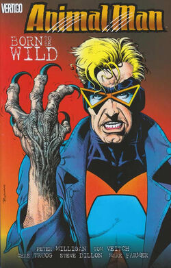 Cover for the Animal Man: Born to Be Wild Trade Paperback