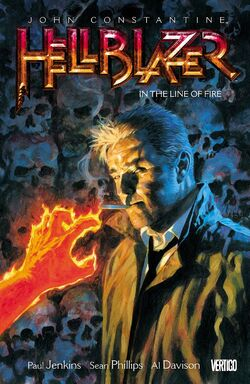 Cover for the Hellblazer: In the Line of Fire Trade Paperback