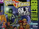 Teen Titans/Outsiders Secret Files and Origins 2003