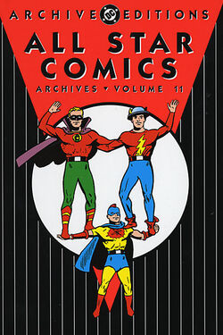 Cover for the All-Star Comics Archives Vol. 11 Trade Paperback