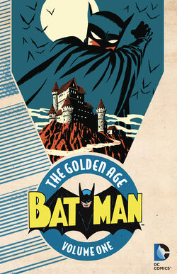 Cover for the Batman: The Golden Age Vol. 1 Trade Paperback