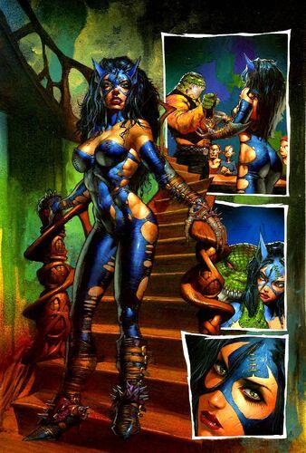Catwoman A Tragedy Dc Database Fandom Powered By Wikia