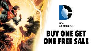 DC Comics Buy One Get One Free