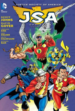 Cover for the JSA Omnibus Vol. 2 Trade Paperback