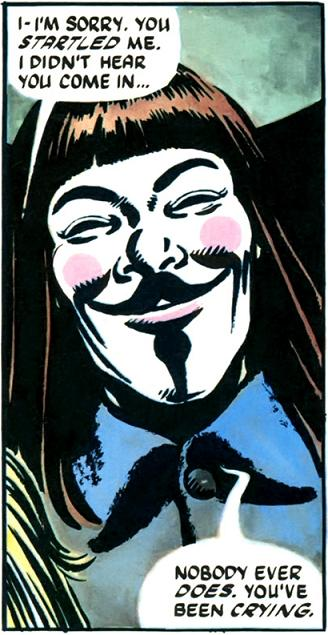 V For Vendetta Comic Bookpdf  Scribd