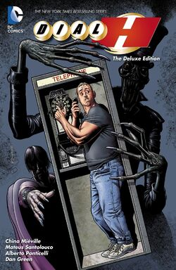 Cover for the Dial H: Deluxe Edition Trade Paperback