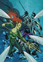 Orm and Mera, beset by Xebelian Guards