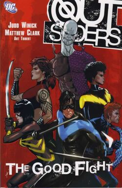Cover for the Outsiders: The Good Fight Trade Paperback