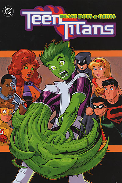 Teen Titans Beast Boys And Girls
