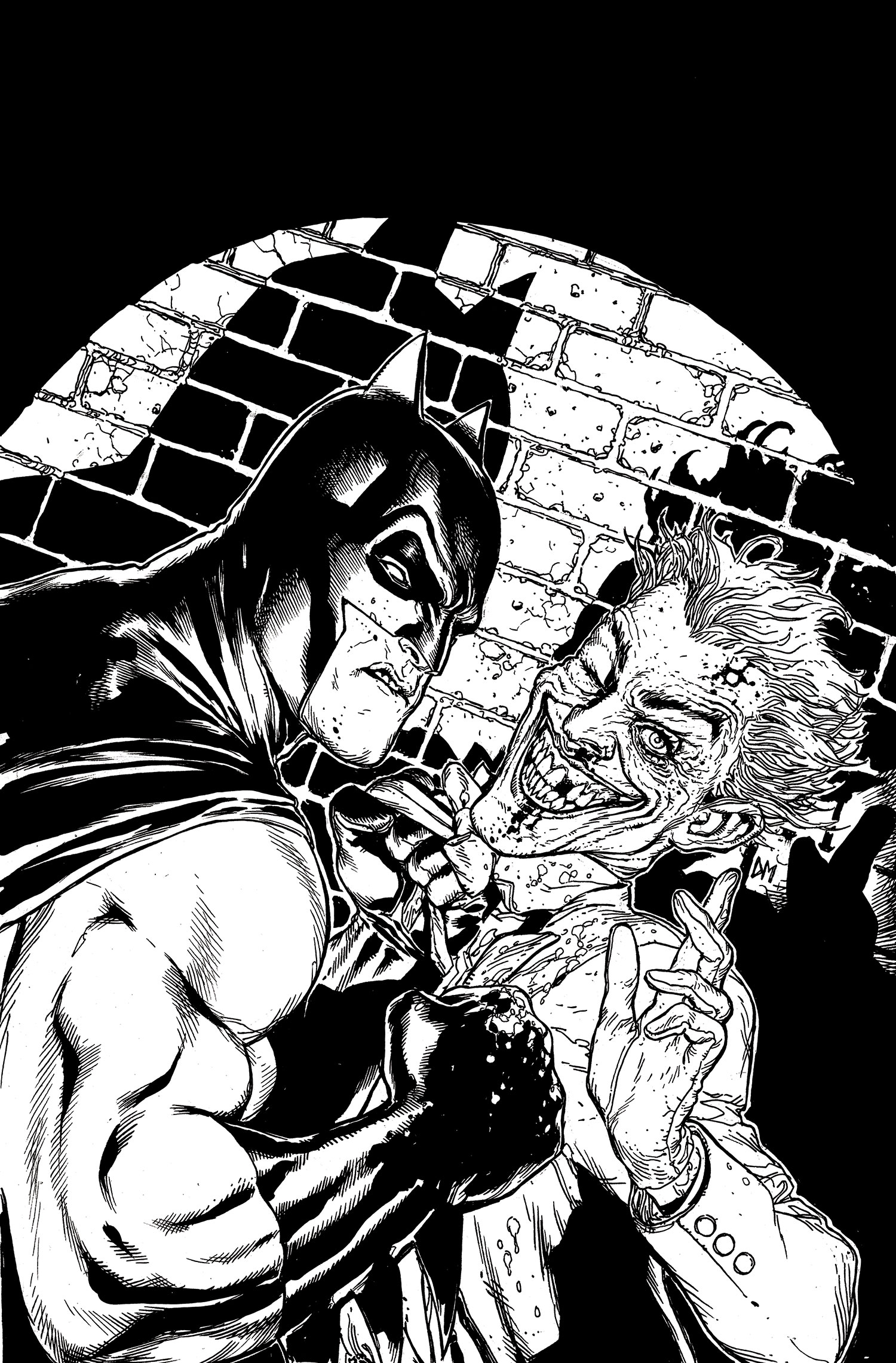 Batman Black And White Vol 1 6 Textless