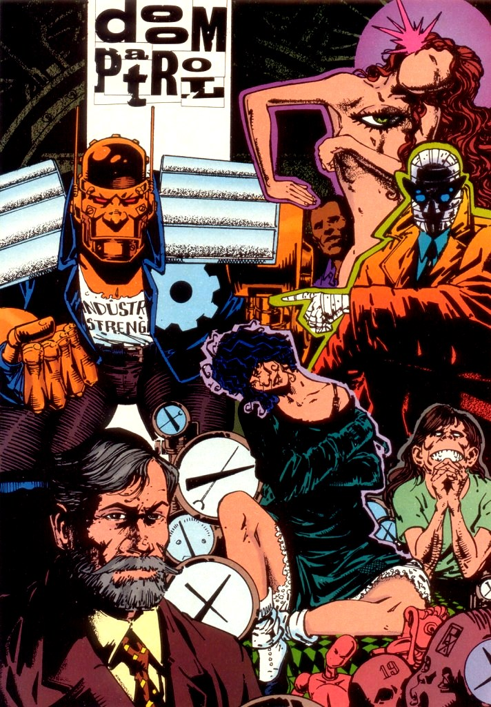 doom patrol comic powers